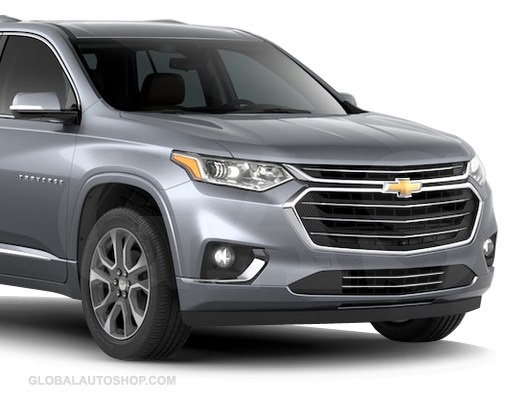 Chevy Traverse Chrome Grill, Custom Grille, Grill inserts ...