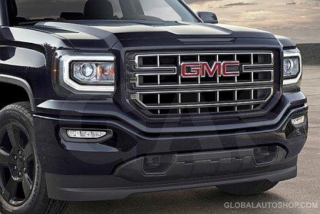 GMC Sierra Chrome Grill, Custom Grille, Grill inserts ...